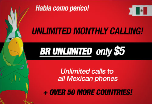 Boss Revolution Unlimited Calling To Mexico & Over 50 Other Countries